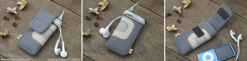 graue iPod nano Tasche